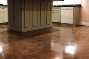 Plano TX Stained Concrete 1-ink