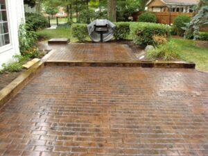 Plano TX Stamped Concrete 1