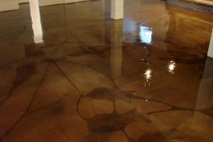 Plano TX Stained Concrete 2-ink